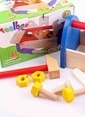 Learning Toys Wooden Tool Box Renkli